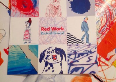 Rachael Howard Red Work Katalog