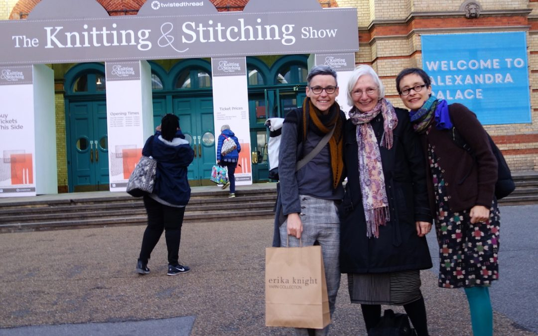 11. – 15. Oktober  Knitting &Stitching Show Alexandra Palace, London
