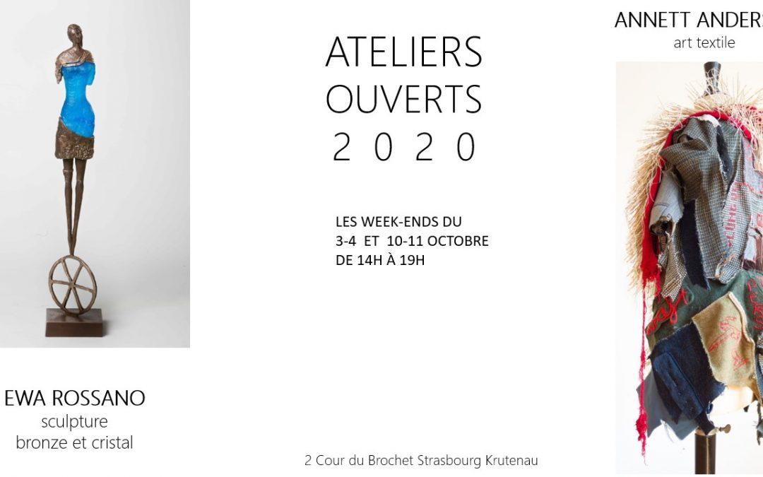 3-4 und 10-11 Oktober 2020 Ateliers Ouverts Strasbourg