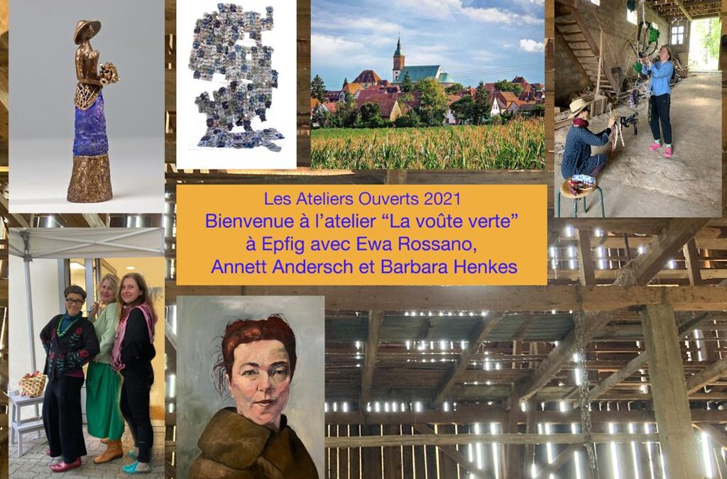 22.-23. und 29.-30. Mai 2021 Ateliers Ouverts in Epfig